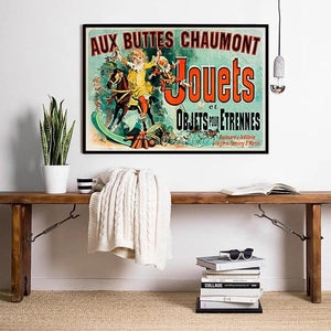 Jouets Aux Buttes Chaumont TV Show Artwork from Gallery Wallrus | Eclectic Wall Art & Decor with Worldwide Shipping