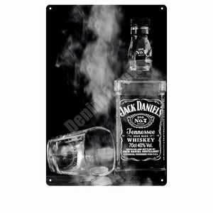 Jack Daniels Bar Wall Signs from Gallery Wallrus | Eclectic Wall Art & Decor with Worldwide Shipping