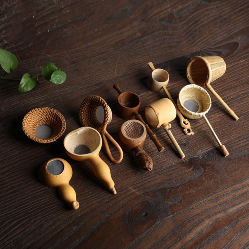 Japanese Artisan Tea Strainers from Gallery Wallrus | Eclectic Wall Art & Decor with Worldwide Shipping