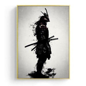 Japanese Armored Samurai Raven Gallery Wall Art Prints from Gallery Wallrus | Eclectic Wall Art & Decor with Worldwide Shipping