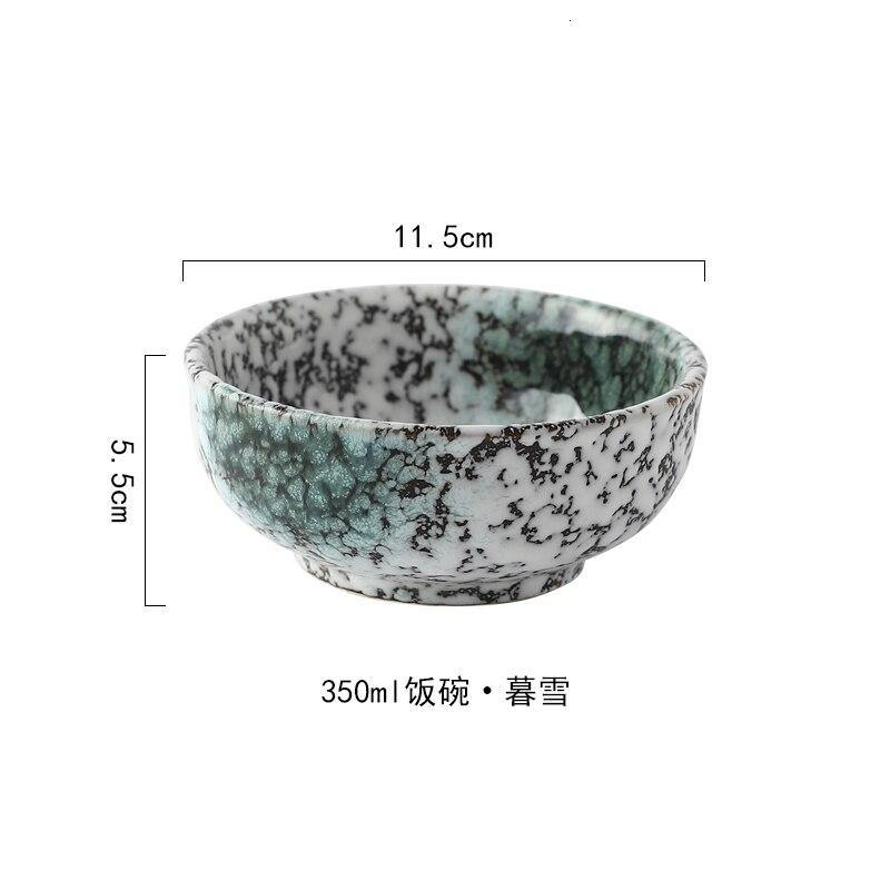 Japanese Marble Style Rice Soup Noodle Bowls from Gallery Wallrus | Eclectic Wall Art & Decor with Worldwide Shipping