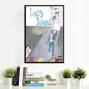 Juice Wrld Death Race for Love Picture Wall Art Print Collection from Gallery Wallrus | Eclectic Wall Art & Decor with Worldwide Shipping