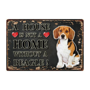 Family Home Dog Breed Signs from Gallery Wallrus | Eclectic Wall Art & Decor with Worldwide Shipping