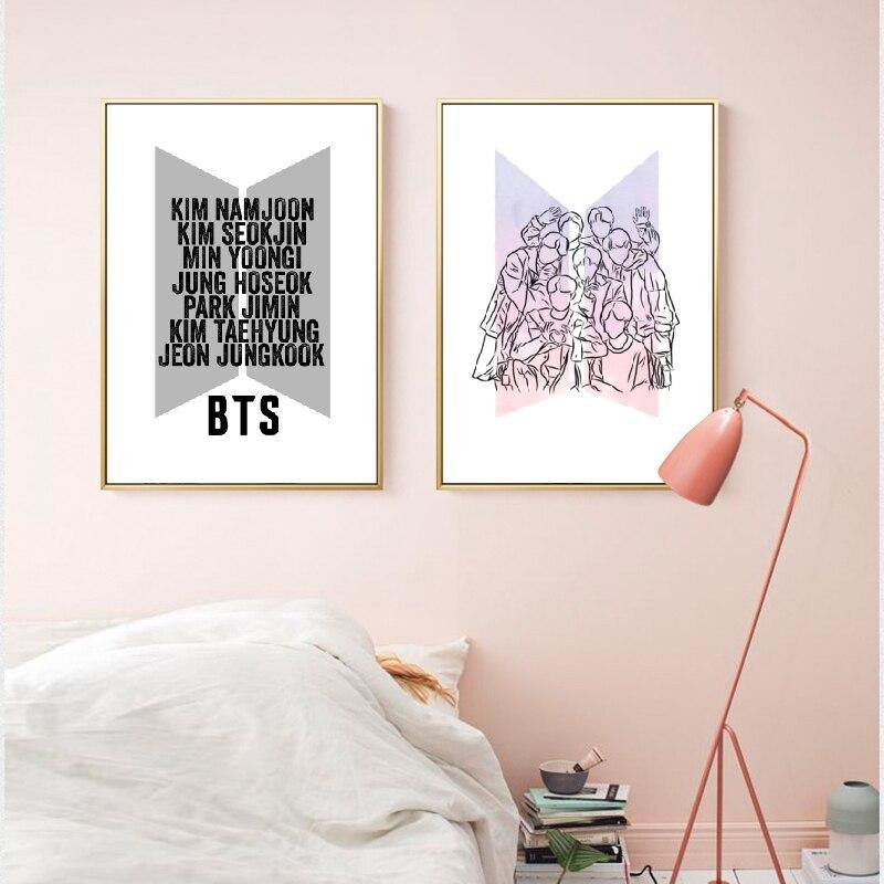 Korea KPOP Music Art Prints from Gallery Wallrus | Eclectic Wall Art & Decor with Worldwide Shipping
