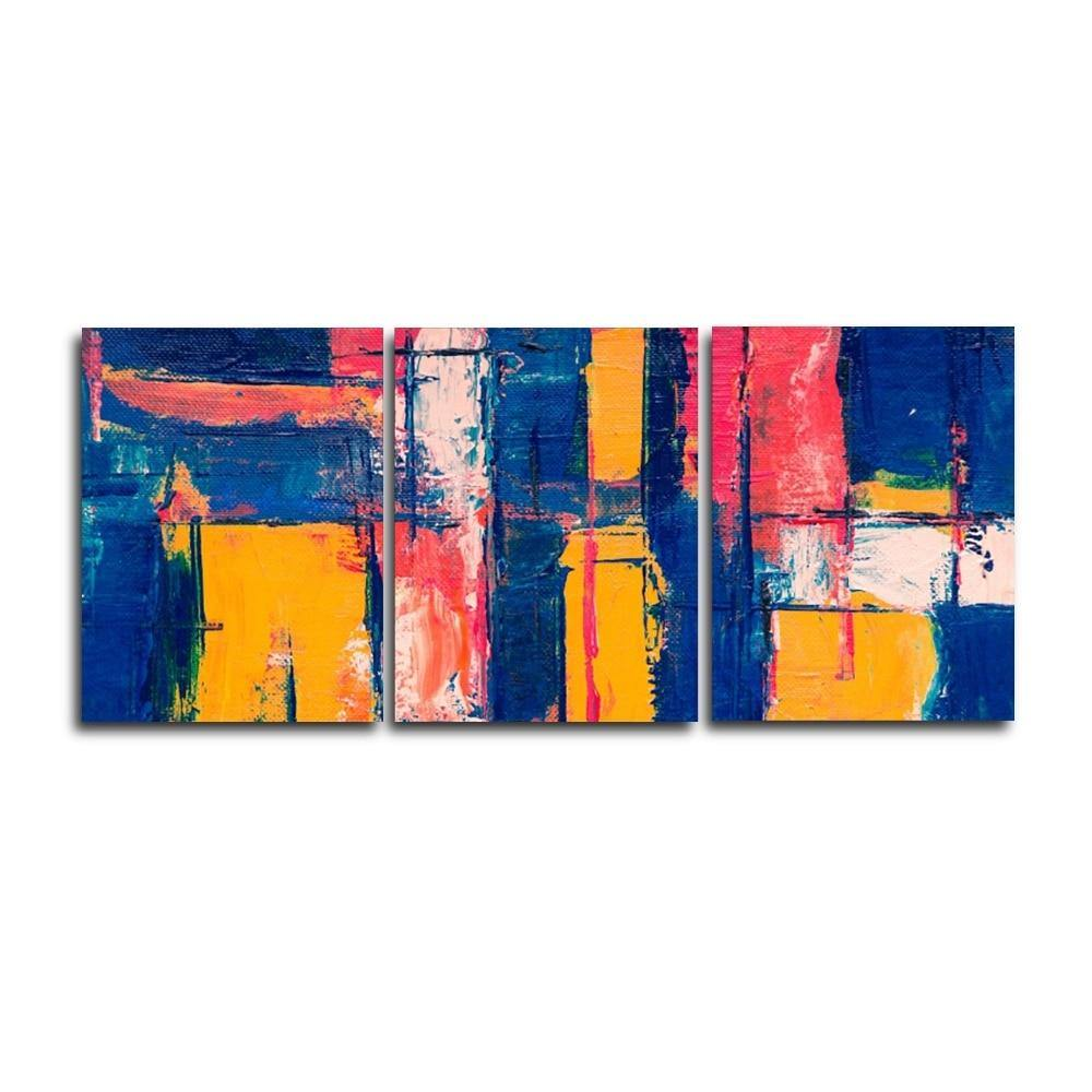 3 Panel Abstract Artwork from Gallery Wallrus | Eclectic Wall Art & Decor with Worldwide Shipping