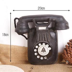 Loft American vintage wall hanging telephone model, living room decoration, creative coffee bar decorations  home decor from Gallery Wallrus | Eclectic Wall Art & Decor with Worldwide Shipping