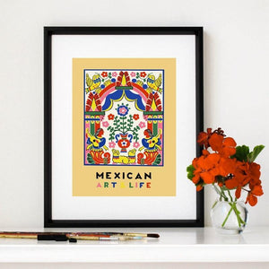 1938 Mexico Art Life Wall Art Print from Gallery Wallrus | Eclectic Wall Art & Decor with Worldwide Shipping