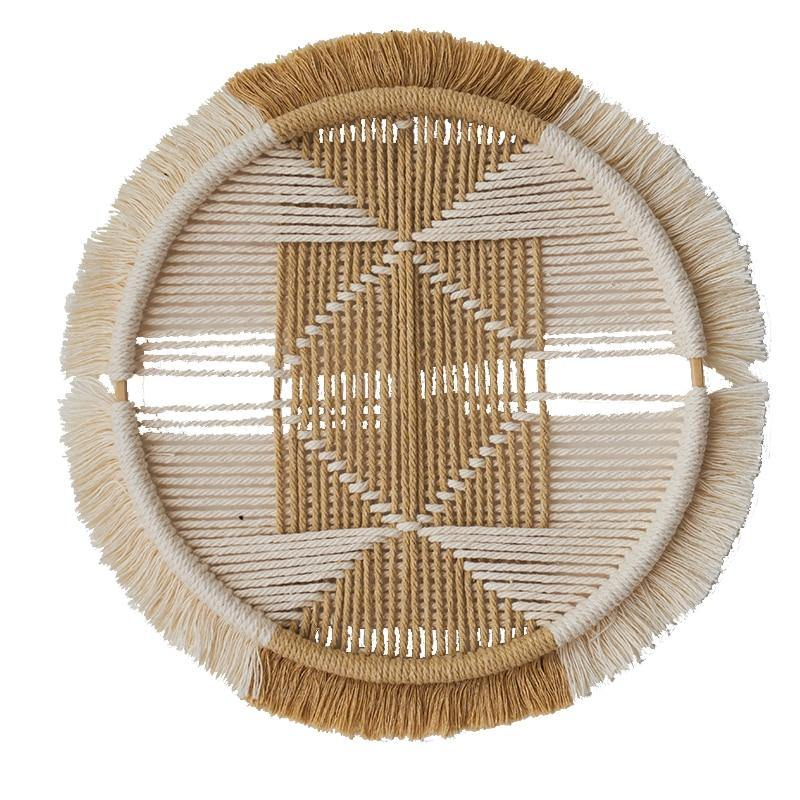 Bohemian Handmade Bamboo Macrame Wall Hangings from Gallery Wallrus | Eclectic Wall Art & Decor with Worldwide Shipping