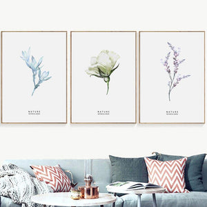 Minimalist Floral Gallery Wall Art Prints from Gallery Wallrus | Eclectic Wall Art & Decor with Worldwide Shipping