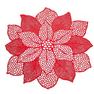 Lotus Flower Table Place Mat from Gallery Wallrus | Eclectic Wall Art & Decor with Worldwide Shipping