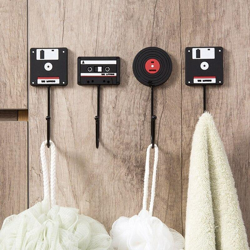 Retro Tape, Vinyl & Floppy Disk Hooks from Gallery Wallrus | Eclectic Wall Art & Decor with Worldwide Shipping