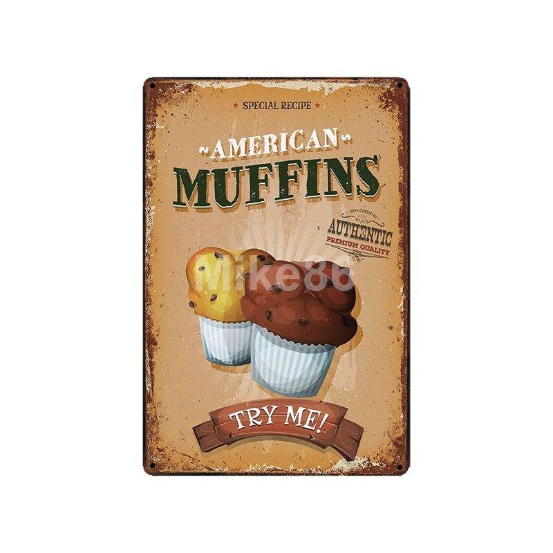 Retro Cafe Food Menu Wall Signs Mix & Match from Gallery Wallrus | Eclectic Wall Art & Decor with Worldwide Shipping
