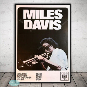 Large Collection of Miles Davis Jazz Music Abstract and Poster Art Prints from Gallery Wallrus | Eclectic Wall Art & Decor with Worldwide Shipping