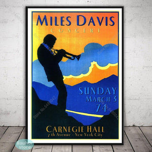 Large Collection of Miles Davis Jazz Music Abstract and Poster Art Prints 2 from Gallery Wallrus | Eclectic Wall Art & Decor with Worldwide Shipping