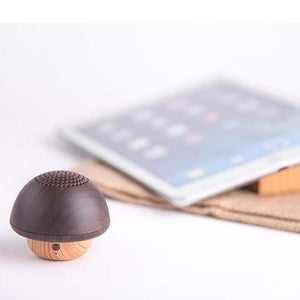 Mini Mushroom Bluetooth Speaker from Gallery Wallrus | Eclectic Wall Art & Decor with Worldwide Shipping