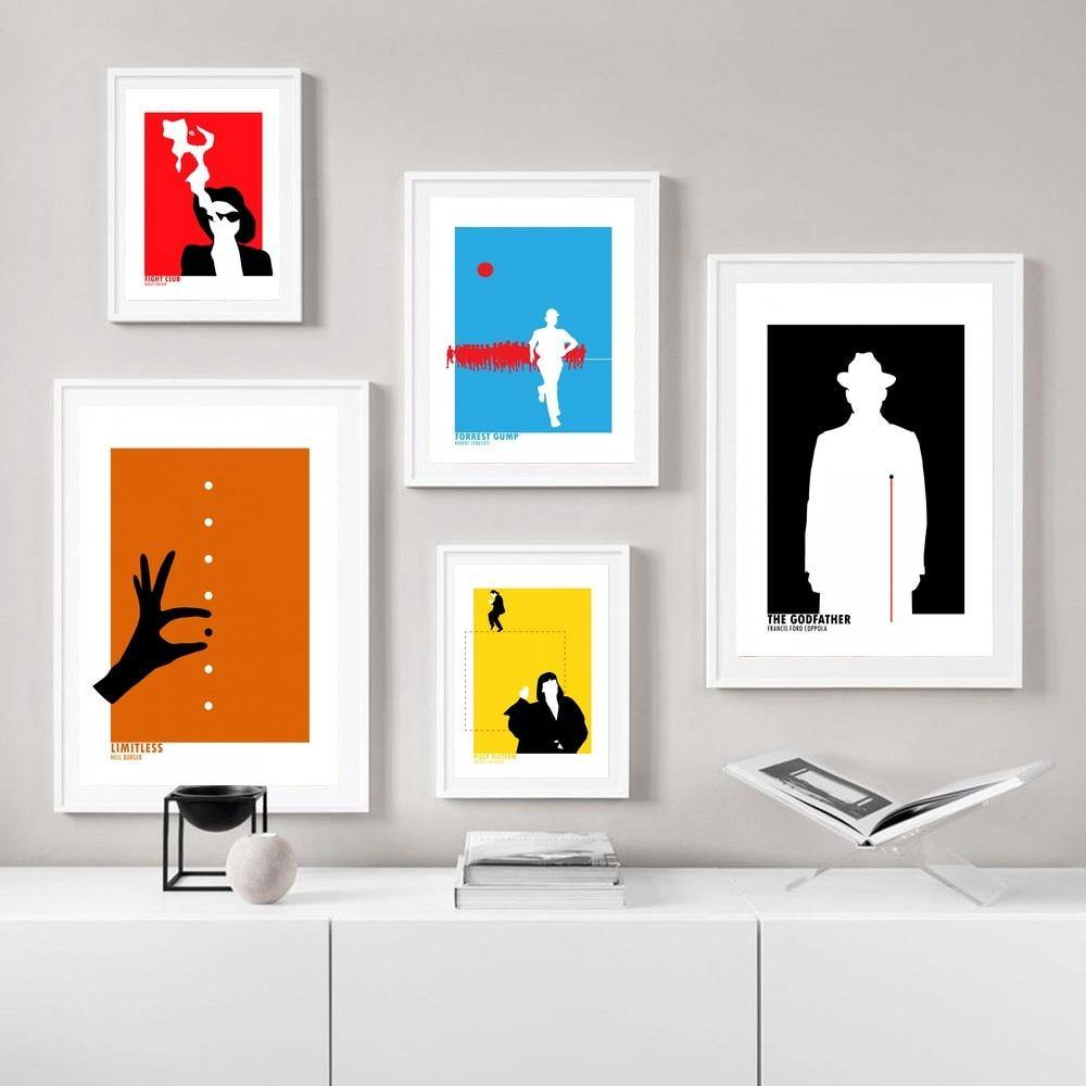 Cult Film Abstract Wall Art Print Set from Gallery Wallrus | Eclectic Wall Art & Decor with Worldwide Shipping