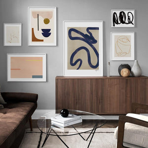 Abstract Geometric Lines Wall Art Pictures from Gallery Wallrus | Eclectic Wall Art & Decor with Worldwide Shipping
