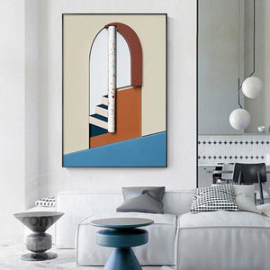 Modern Abstract Architectural Art Painting Collection from Gallery Wallrus | Eclectic Wall Art & Decor with Worldwide Shipping