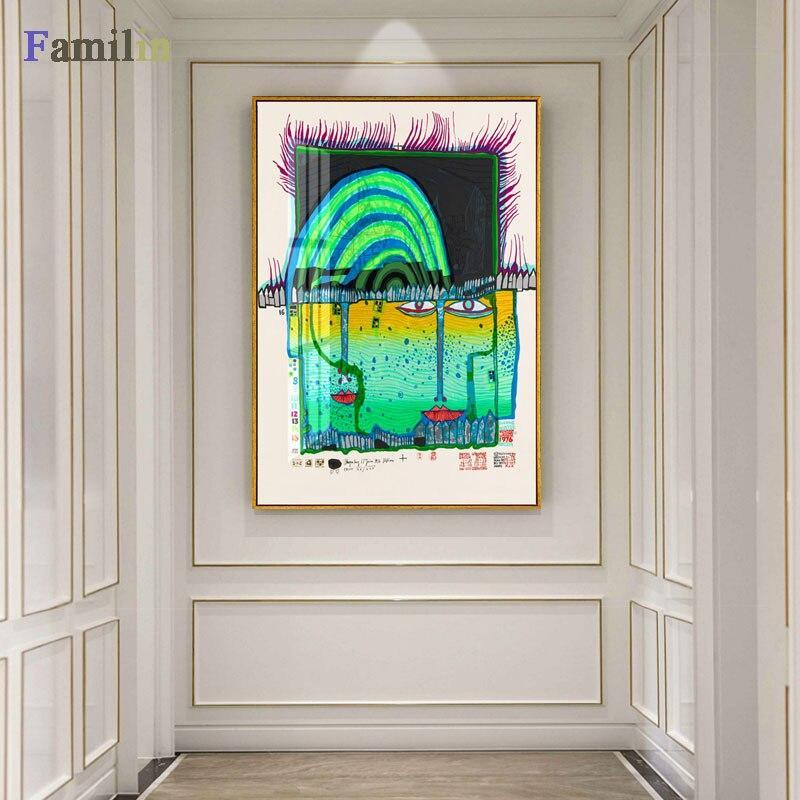 Colorful Abstract Wall Art Paintings from Gallery Wallrus | Eclectic Wall Art & Decor with Worldwide Shipping