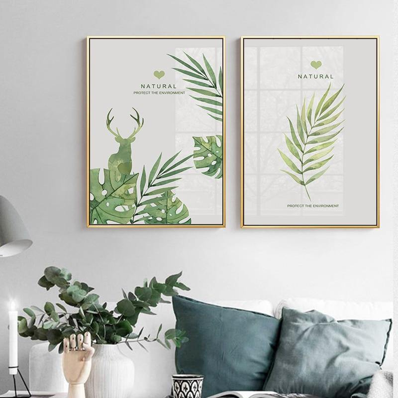 Protect the Environment Green Gallery Wall Art Prints from Gallery Wallrus | Eclectic Wall Art & Decor with Worldwide Shipping
