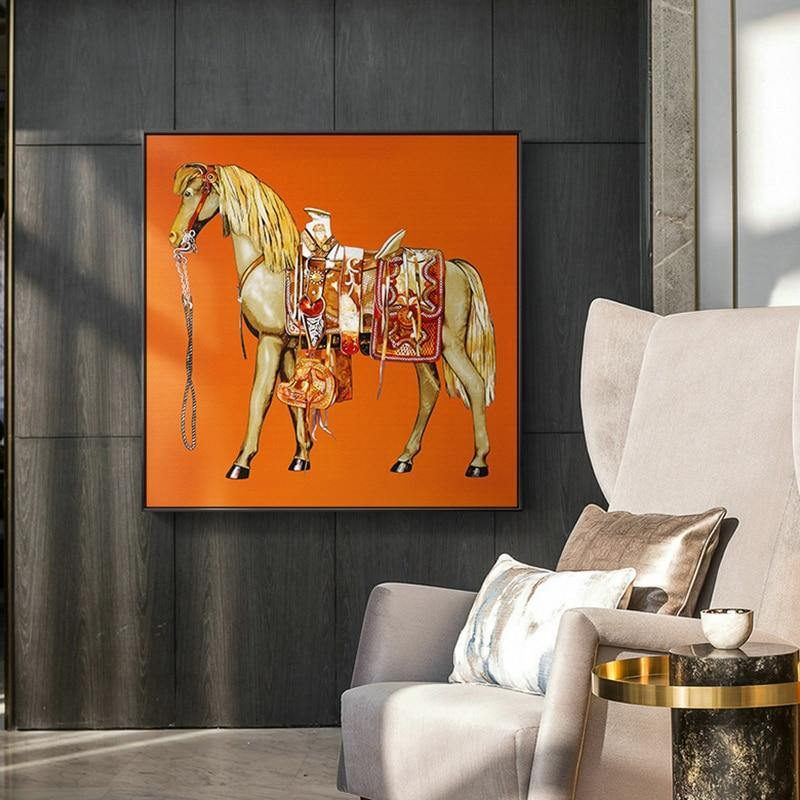 Modern King Of Glory Canvas Painting Horse Wall Art Pictures For Living Room Europe knight Poster Home Decor Posters And Prints from Gallery Wallrus | Eclectic Wall Art & Decor with Worldwide Shipping