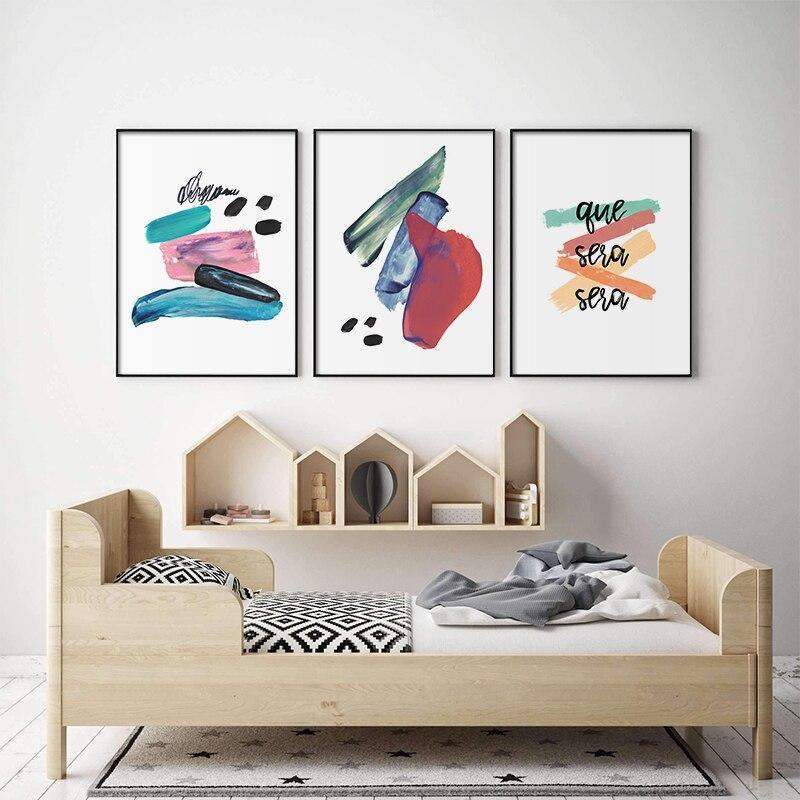 Abstract Colorful Block Art Paintings Gallery from Gallery Wallrus | Eclectic Wall Art & Decor with Worldwide Shipping