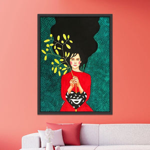Stunning Boho Pop Art Paintings Gallery Wall Collections 2 from Gallery Wallrus | Eclectic Wall Art & Decor with Worldwide Shipping