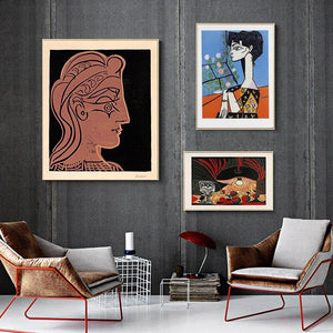 Abstract Human Face by Henri Matisse Wall Art Prints from Gallery Wallrus | Eclectic Wall Art & Decor with Worldwide Shipping