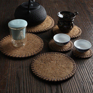 Bamboo Tea Coaster Collection from Gallery Wallrus | Eclectic Wall Art & Decor with Worldwide Shipping