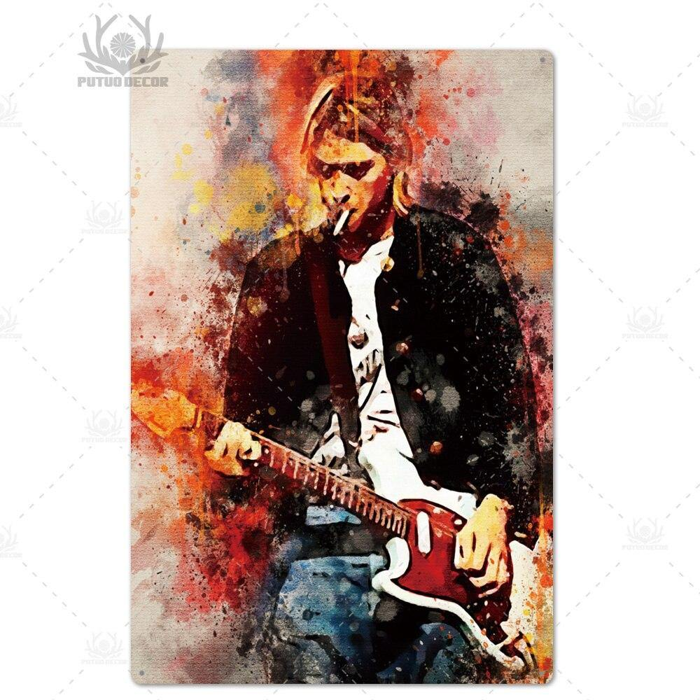 Rock Legends Metal Wall Art Decor from Gallery Wallrus | Eclectic Wall Art & Decor with Worldwide Shipping
