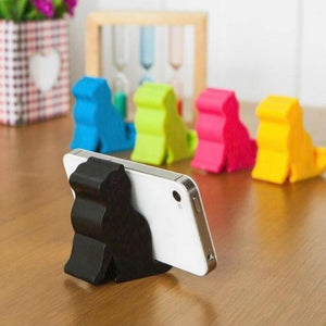 Mini Cat Mobile Tablet Stand Holder Collection from Gallery Wallrus | Eclectic Wall Art & Decor with Worldwide Shipping