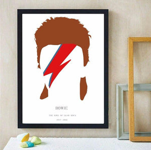 Ziggy Stardust Abstract Illustration Art Print from Gallery Wallrus | Eclectic Wall Art & Decor with Worldwide Shipping