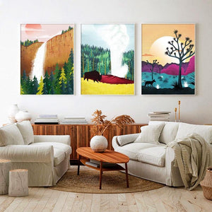 Colorful Nature Park Gallery Art Prints from Gallery Wallrus | Eclectic Wall Art & Decor with Worldwide Shipping