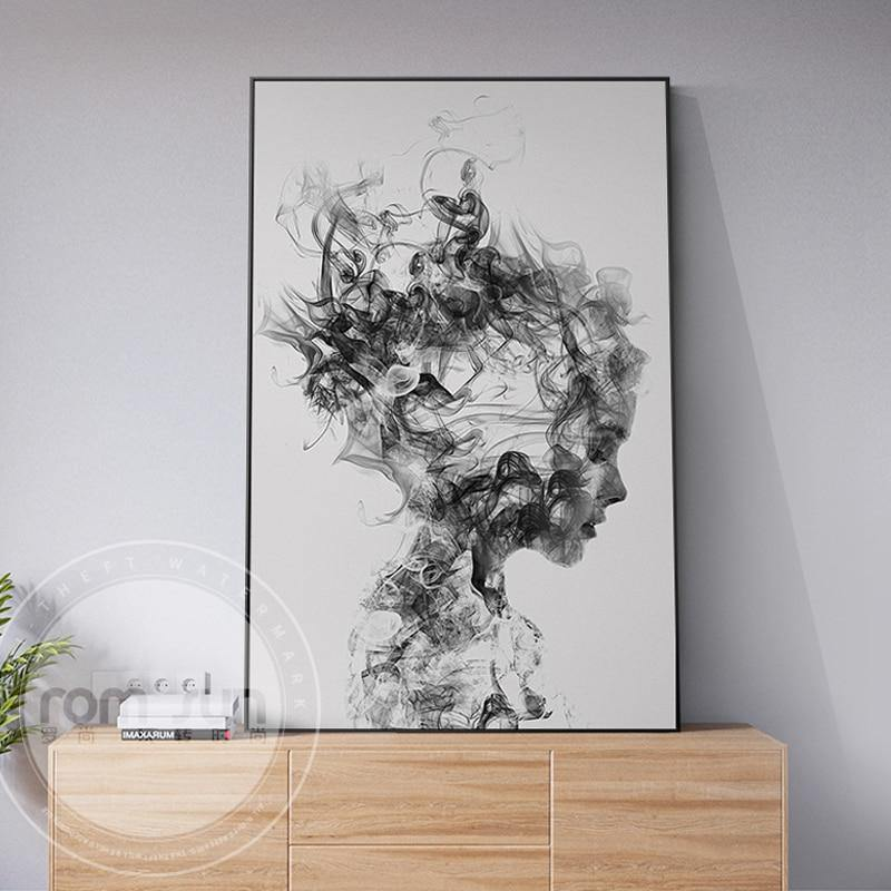 New Chinese Style painting Canvas Print And Poster Wall Pictures For Living Room Artistic Cuadros Decoracion Sexy Girl Wall Art from Gallery Wallrus | Eclectic Wall Art & Decor with Worldwide Shipping