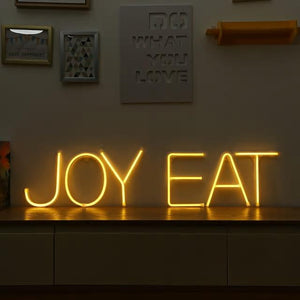 Neon Letters A-Z from Gallery Wallrus | Eclectic Wall Art & Decor with Worldwide Shipping