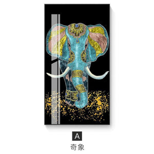 New fashion style horse and elephant painting wall pictures for living room canvas painting posters and prints home decoration from Gallery Wallrus | Eclectic Wall Art & Decor with Worldwide Shipping