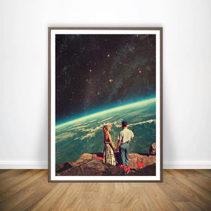 Surrealism Galaxy Sci-Fi Wall Art Prints Collection from Gallery Wallrus | Eclectic Wall Art & Decor with Worldwide Shipping