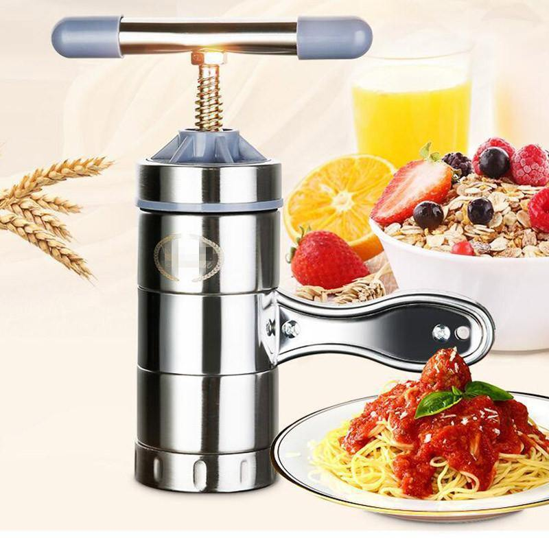 Noodle Maker Household Manual Stainless Steel Pressing Machine Kitchen Tool Hollow Noodle Machine Handmade Noodle Machine from Gallery Wallrus | Eclectic Wall Art & Decor with Worldwide Shipping