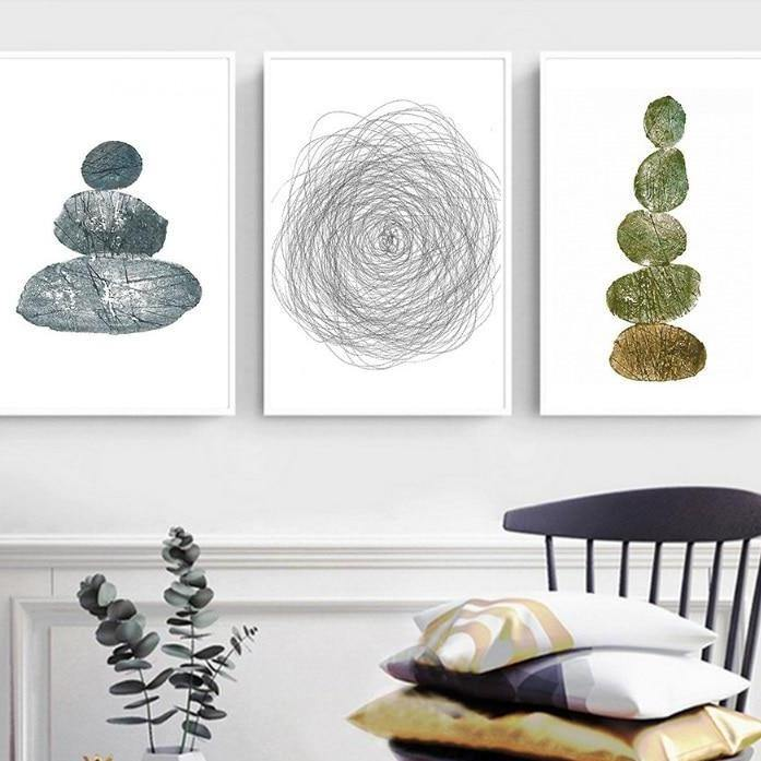 Minimalist Drawings Gallery Wall from Gallery Wallrus | Eclectic Wall Art & Decor with Worldwide Shipping