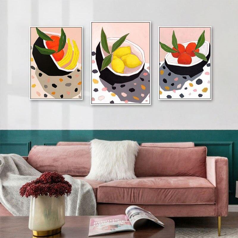 Kitchen Fruits Wall Art Paintings from Gallery Wallrus | Eclectic Wall Art & Decor with Worldwide Shipping