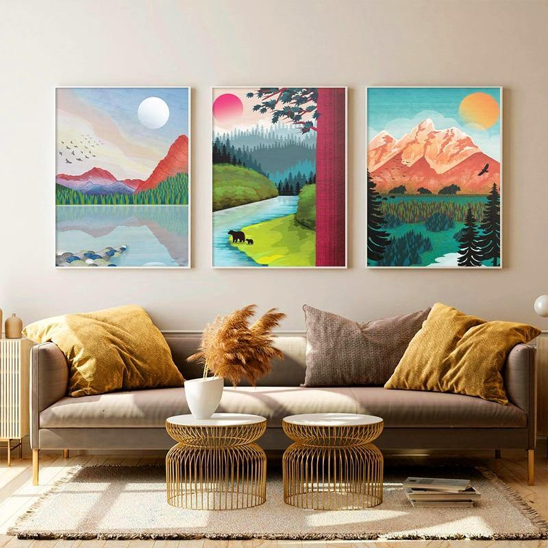 Watercolor Arches Banff Art Gallery Paintings from Gallery Wallrus | Eclectic Wall Art & Decor with Worldwide Shipping