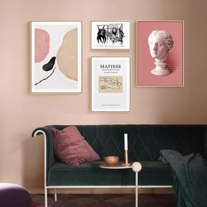 Pink Art Deco Prints Mix & Match from Gallery Wallrus | Eclectic Wall Art & Decor with Worldwide Shipping