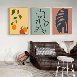 Peach Palette Gallery Wall Mix & Match from Gallery Wallrus | Eclectic Wall Art & Decor with Worldwide Shipping