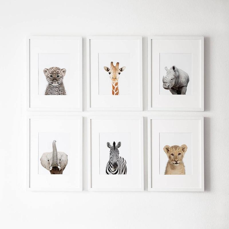 Safari Animals Gallery Wall Art Prints from Gallery Wallrus | Eclectic Wall Art & Decor with Worldwide Shipping