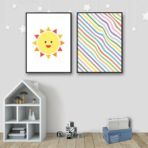 Rainbow Nursery Art Prints Mix & Match Gallery Wall from Gallery Wallrus | Eclectic Wall Art & Decor with Worldwide Shipping