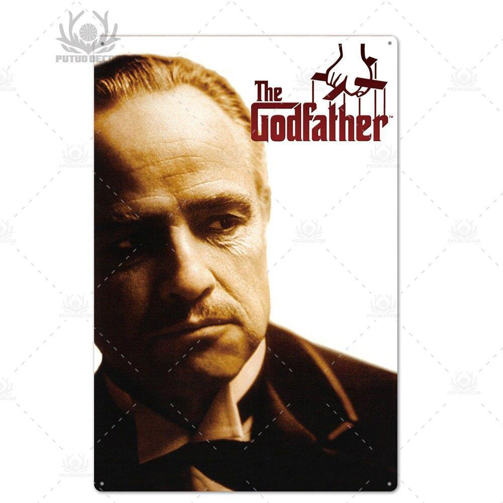 Classic Gangster Movie Metal Art Plaques from Gallery Wallrus | Eclectic Wall Art & Decor with Worldwide Shipping