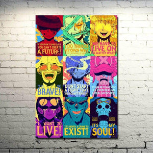 One Piece Strong World Characters Art Silk Fabric Poster Print 13x20 32x48inch Monkey D Luffy ACE Boa Hancock Nami Pictures 042 from Gallery Wallrus | Eclectic Wall Art & Decor with Worldwide Shipping