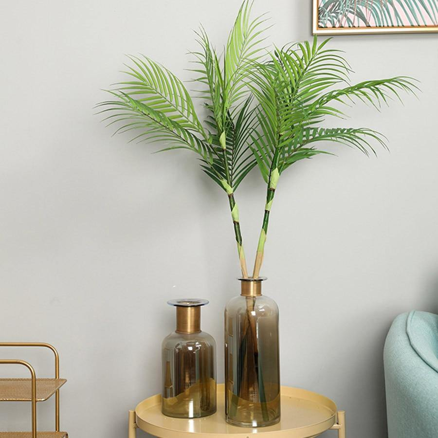 Palm Tree Leaves Artificial Plants Gallery Wallrus Free Worldwide Shipping