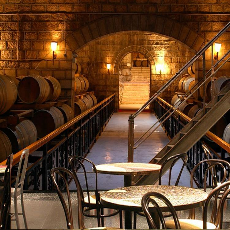 Wine Cellar Barrels and Beer Wall Mural Designs from Gallery Wallrus | Eclectic Wall Art & Decor with Worldwide Shipping