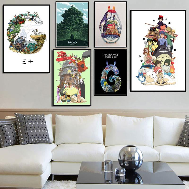 Japanese Anime Cartoon Wall Art Prints Collection from Gallery Wallrus | Eclectic Wall Art & Decor with Worldwide Shipping